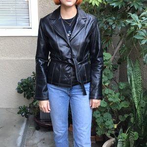 Dark brown Maxima Wilsons Leather jaket